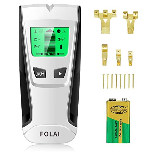 - Stud Finders Wall Finder Wall Scanner Center-Finding Stud Finder with Sound Warning for AC Wire, Metal, Wall Studs, Wood
