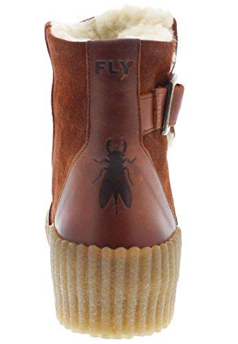 FLY LONDON Yat mousse/cupido, Farbe:brick;Größe:41
