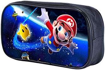 A Fuovt Super Mario Zipper Pencil Case for Toy and Pen Storage Bag