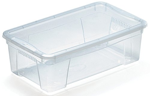 M Home Caja de Almacenaje 2 5.7 l Transl/úcido 35x21x12 cm