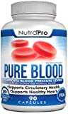 Pure Blood Pressure Support – Cardiovascular And Heart Health. Cholesterol Lowering. All Natural