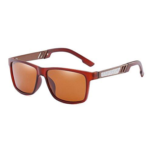 Negros C4 JR66278 Sol Sunglasses Macho Frame de Conducción de Sol Hombre Sol de de C5 Gafas Espejo polarizadas Gafas JR66278 de Gafas TL Moda Gafas UV400 Revestimiento Puntos 4STaaq