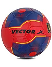 Vector X Spain-TPU-MS-5 Synthetic Machine Stitched Football, Size 5 (Multicolour)