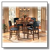 DRM Counter Table Set (5/CN) by Ashley Furniture