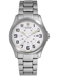 Victorinox Swiss Army Mens 241293 Infantry White Watch
