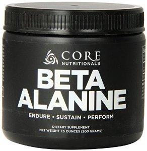 Complément alimentaire de Nutritionals Beta Alanine, 200 grammes de base