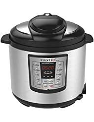 Instant Pot IP-LUX60 V3 Programmable Electric Pressure Cooker, 6Qt, 1000W