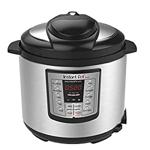 Instant Pot Lux 6-in-1 Electric Pressure Cooker, Sterilizer Slow Cooker, Rice Cooker, Steamer, Saute, and Warmer, 6…