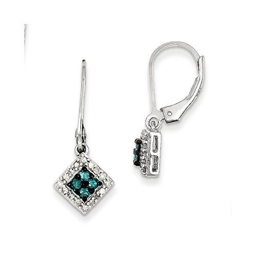 Blue & White Diamond Small Squ
