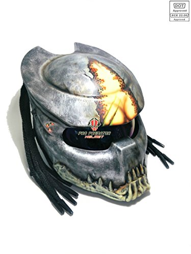 Alien Motorcycle Helmet - 1