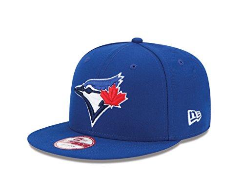 New Era Baycik Snap 9Fifty Snapback Cap, Blue, Small/Medium