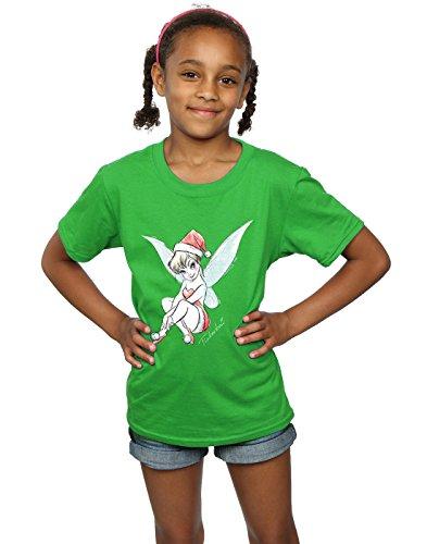Disney Girls Tinkerbell Christmas Fairy T-Shirt 9-11 Years Irish (Disney Tinkerbell Fairy T-shirt)