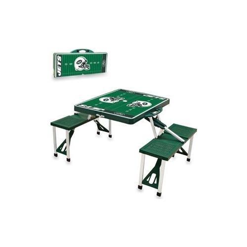 NFL Picnic Table Sport Color: Hunter, NFL Team: New York Jets