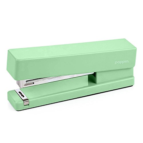 Poppin Bright Mint Green Cute Stapler Office Desktop Accessories (Large Image)