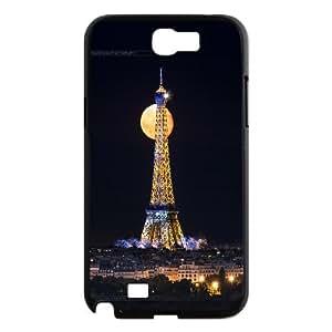 FOR Samsung Galaxy Note 2 Case -(DXJ PHONE CASE)-Tourism Eiffel Tower in Paris-PATTERN 3