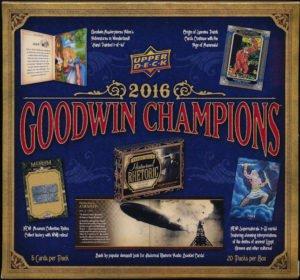 (2016 Upper Deck Goodwin Champions HOBBY box (20 pk))
