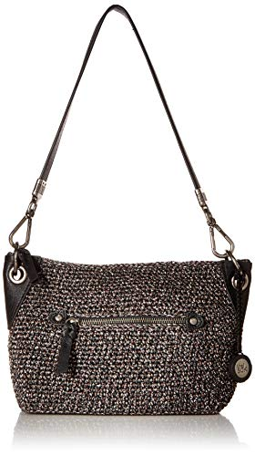 Crochet Hobo Handbag - The Sak Women's Indio Crochet Demi, urban static