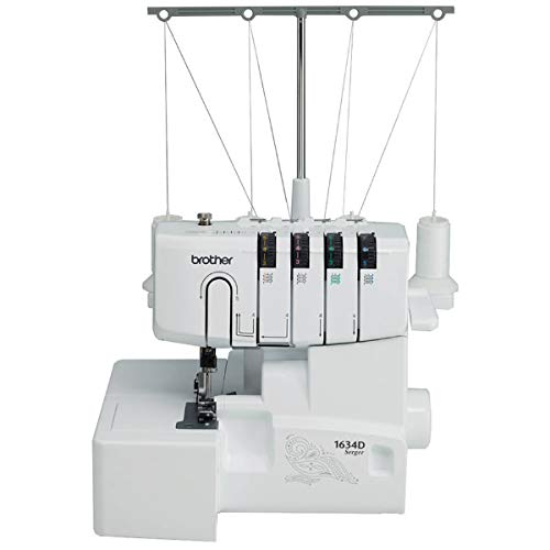 Brother R1634D (Refurbished), Metal Frame, Overlock Machine, 1,300 Stitches Per Minute reviews