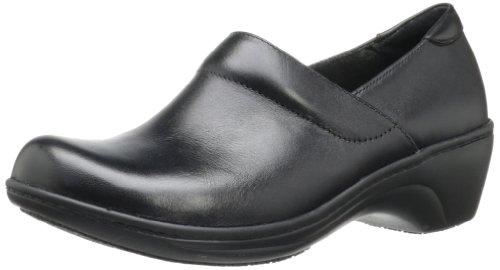 Clarks Women's Grasp Idea Loafer,Black,6 M US