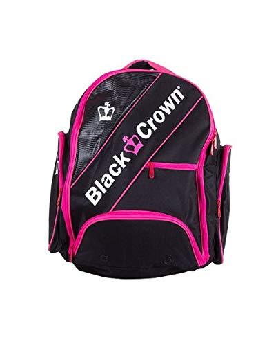 ブラッククラウンバックパックブラックピンク   B07M8V536G