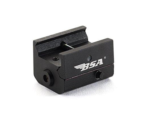 BSA Optics MLSR650 Mini 650nm Red Laser Pistol Sight