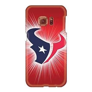RobAmarook Samsung Galaxy S6 Excellent Hard Phone Case Customized High Resolution Houston Texans Series [hJB4536jaYY]