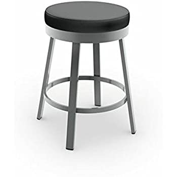 Amazon Com Amisco Tower Swivel Metal Counter Stool With