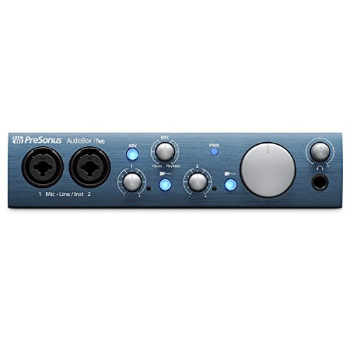 Presonus AudioBox iTwo | USB Audio iPad Recording Interface by PreSonus