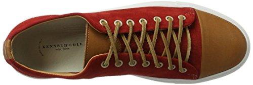 KENNETH COLE Sport Car, Zapatillas para Hombre Rojo (Red 600)