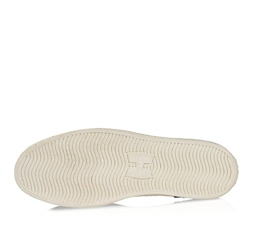 Hogan Rebel Baskets Mode Homme En Cuir Et En Tissu Blanc - Code Du Modèle: Hxm1410u372cg70xaz - Taille: 40,5 Ue