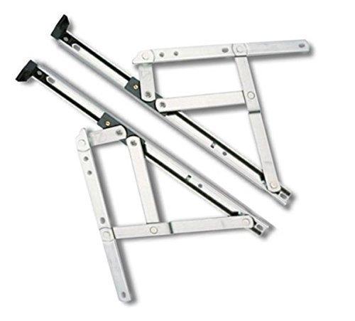 Home Secure - Aufsatzband für Fenster - Positionshalterung durch Reibung 60,96 cm lang, 13 mm hoch. Für Klappflügel. Hohe Qualität