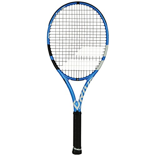 Babolat 2019 Pure Drive Team Tennis Racquet – Choice of String Color (Black String, 4-1/4)