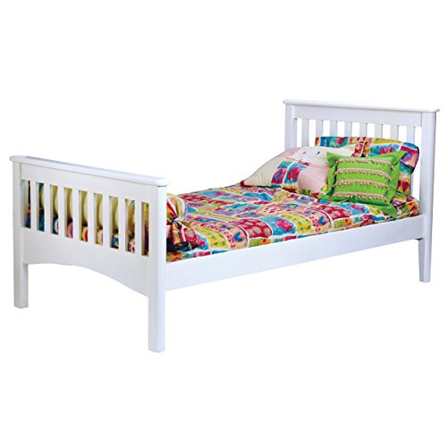 Bolton 9921500 Mission Bed, Twin, White
