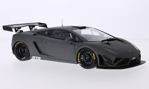 Lamborghini Gallardo GT3 GT3 GT3 FL2, matt-dunkelgrau, 2013, Modellauto, Fertigmodell, AUTOart 1:18 4bc294