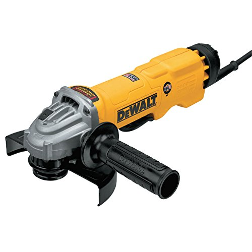 DEWALT DWE43144N High Performance Paddle Switch Grinder with No Lock-On, 6