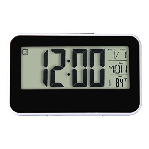 Amazon.com: Baishitop Fashion Creative Smart Clock Digital Alarm-3.93 inch Display: Home Audio & Theater