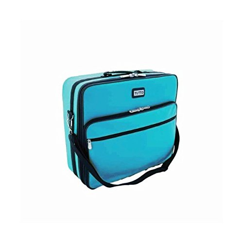 Image of Carrying Cases Tutto 19' Turquoise Embroidery Bag,