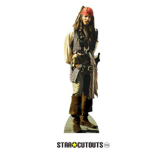 Star Cutouts Cut Out of Captain Jack Sparrow