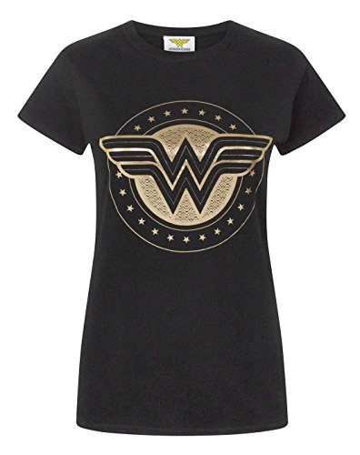 Wonder+Woman+Shirts Products : Wonder Woman Foil Shield Women's T-Shirt