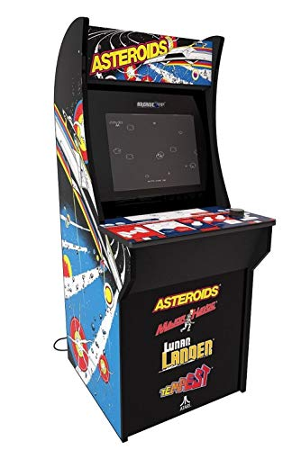 Arcade 1Up – Asteroids Deluxe Classic Arcade Game Cabinet for Kids and Adults – 3/4 Scale – Coinless Operation – 4 Games in 1 (Asteroids, Major Havoc, Lunar Lander and Tempest) by Arcade 1 Up (Image #1)