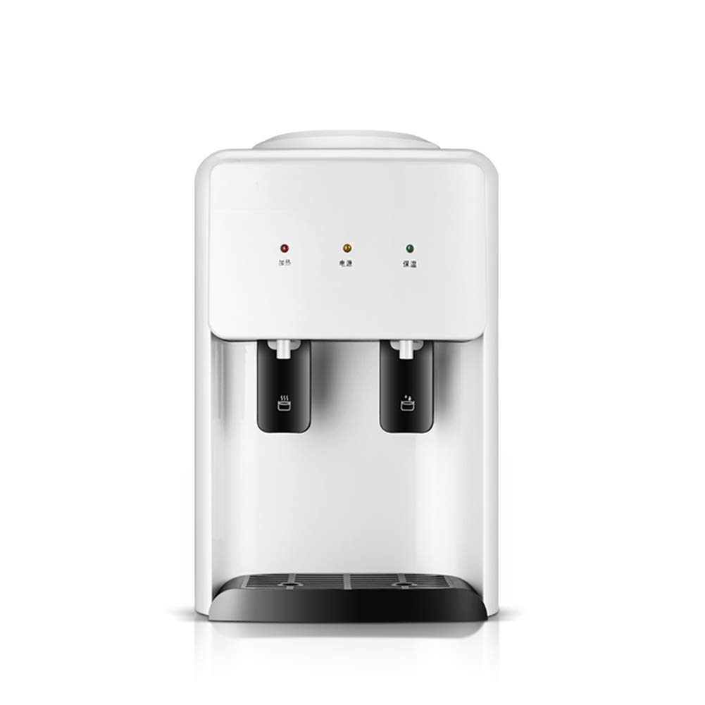 Home Desktop Mini erogatore di Acqua Calda, Interruttore di Spinta Pratico Ottenere Acqua Risparmio energetico Macchina per Il Riscaldamento dell'Acqua,White,Ice/Warm/Hot Prezzi