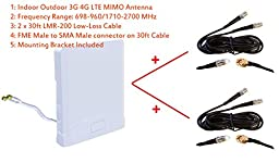3G 4G LTE Indoor Outdoor wide band MIMO Antenna for MOFI MOFI4500 Cellular 4G LTE Router mofi 4500