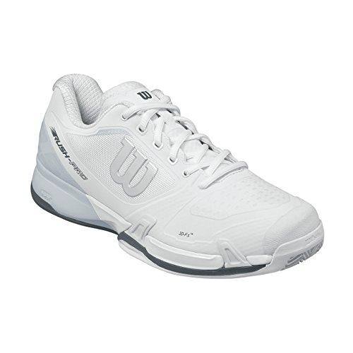 Wilson Wrs322650e135, Chaussures de Tennis Homme, Blanc Cassé (White / Pearl Blue / Iron Gate), 50 EU