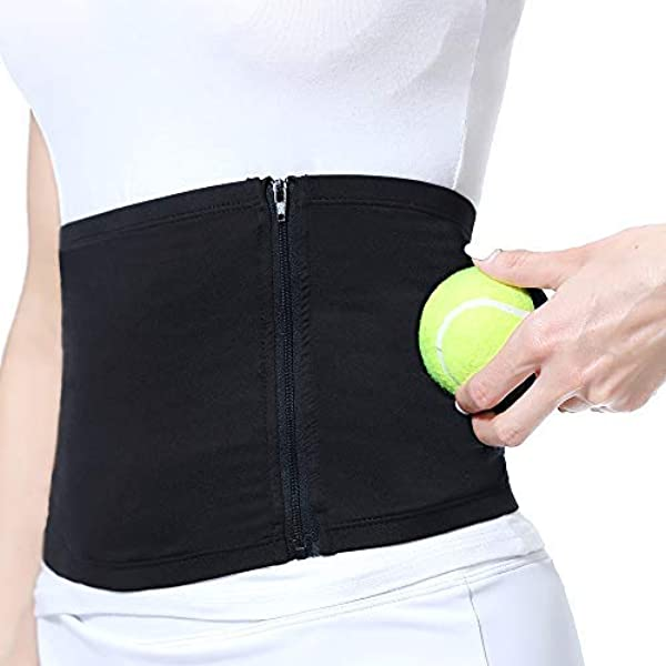 Tennis Ball Clip Holder Waist Clip Transparent Holds Training Accessories BREEZEY Tennis Equipment