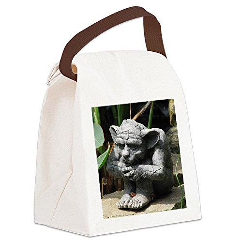 - CafePress - gargoyle Canvas Lunch Bag - Canvas Lunch Bag with Strap Handle