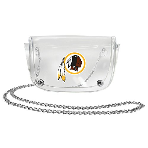 (NFL Washington Redskins Clear Carryall Crossbody)