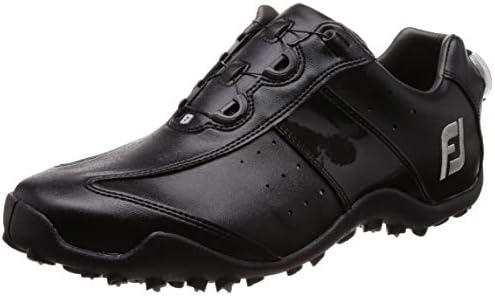 ゴルフシューズ EXL SPIKELESS Boa メンズ ブラック(18) 27.5 cm 3E 45184J E