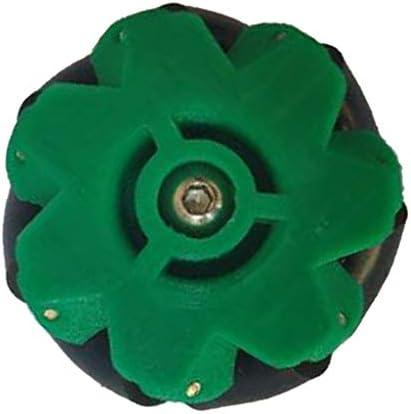 タイヤ ホイール カップリング付き 滑り止め アクリル製 全3色 径約40mm カー&バギー に対応 - グリーン