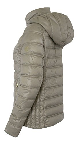 Michael Michael Kors Women's Down Short Packable Puffer Jacket Fall 2017 Taupe (M) by Michael Kors (Image #2)
