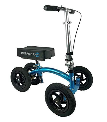 NEW KneeRover QUAD Jr All Terrain Knee Walker in Metallic Blue ()